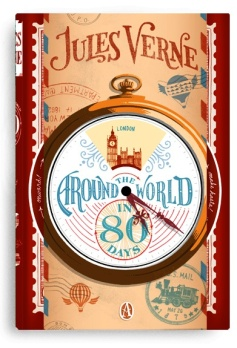 Jules Verne - Around the World in 80 days (Cover by Jim Tierney)
