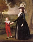 Mrs. William Moseley and Son Charles by Ralph Earl (1791)