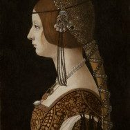 Ambrogio de Predis Bianca Maria Sforza, probably 1493